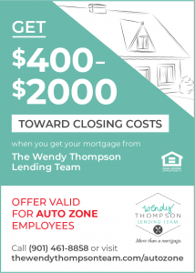 Autozone employees save on mortgage closing costs