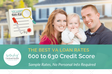 Best VA Loan Rates with a 600 to 630 Credit Score and Approval Tips