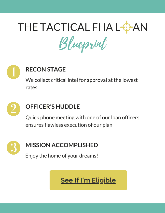 The Tactical FHA Loan Blueprint