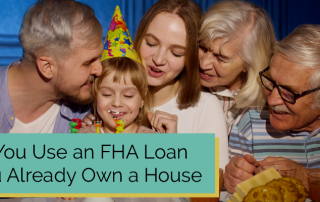 fha loan for second home